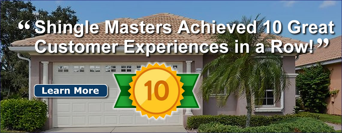 Shingle Masters Tampa Roof Contractor Roof Damage